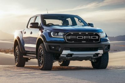 Ford Ranger Raptor double cab pickup